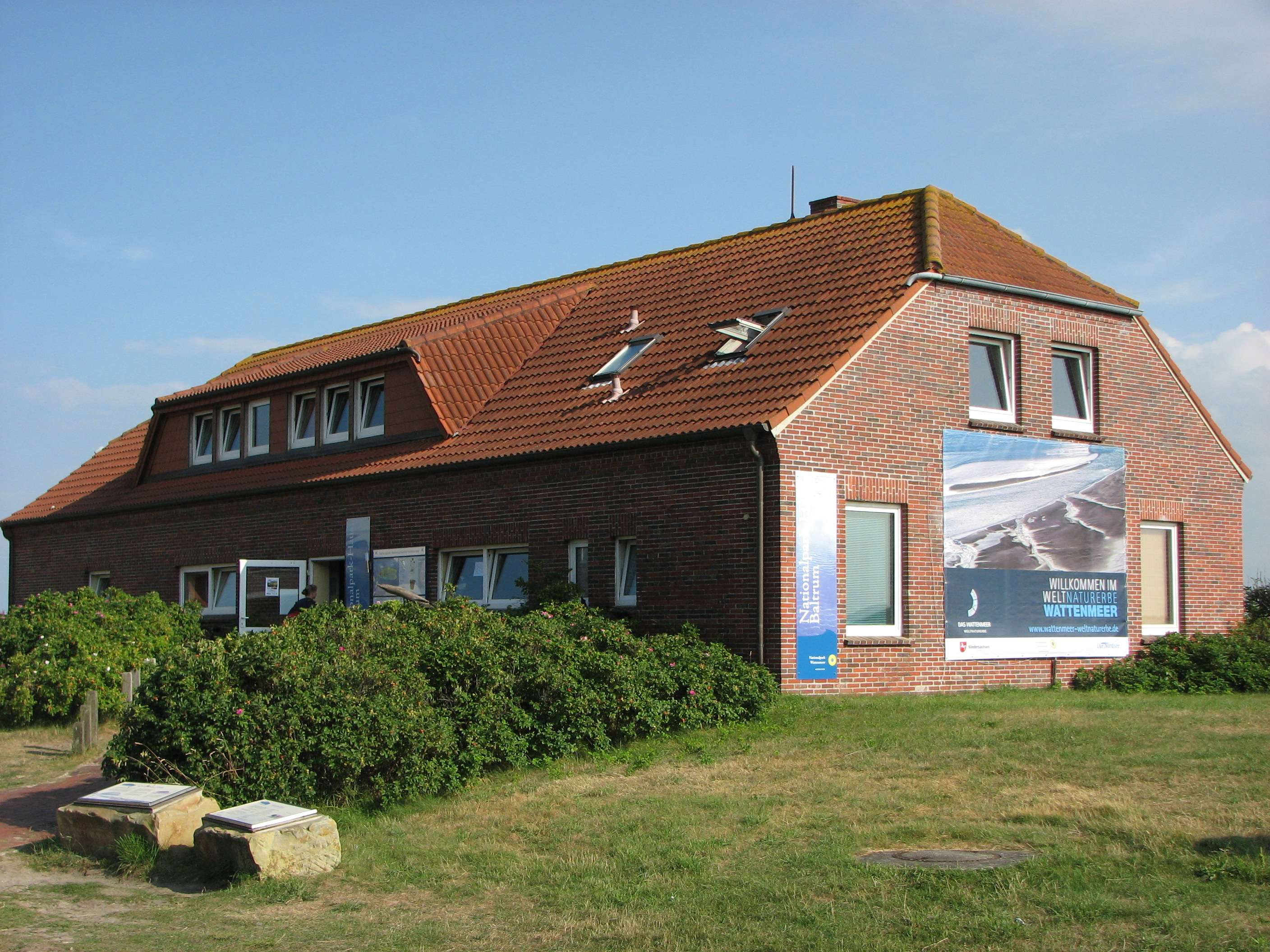 Nationalpark-Haus Baltrum, Gezeitenhaus